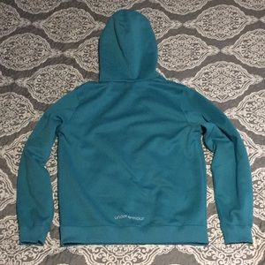 Under Armour Tops - ⭐️ Under Armour teal hoodie sz Small